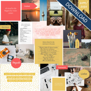 "Vision Board Set - ""Colors"" (Digital Download)"